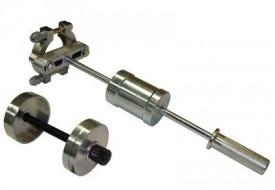 Extrator e instalador da bucha bipartida em aço da suspensão traseira do Santana, Quantum, Versailles e Royale.