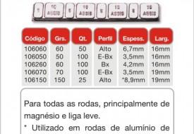 Contrapeso Adesivo 150GR ( PCT C/25 )
